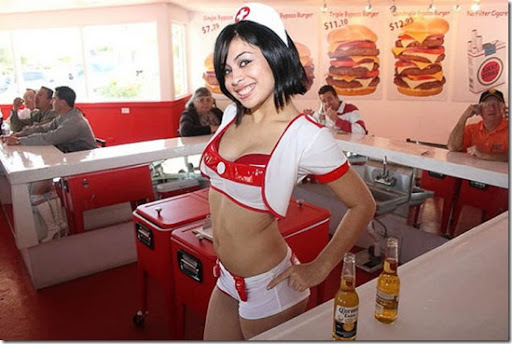 heart attack burgers phoenix. girlfriend Heart Attack Grill