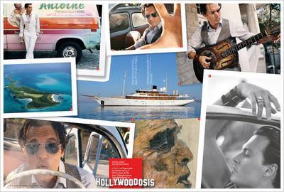 Johnny Depp habla de su isla privada y la vida   tapa y fotos de Vanity Fair [Julio 2009]