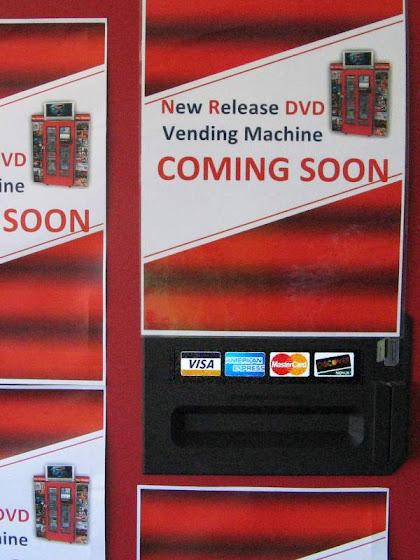 DVD dispenser