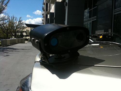 sensor close up