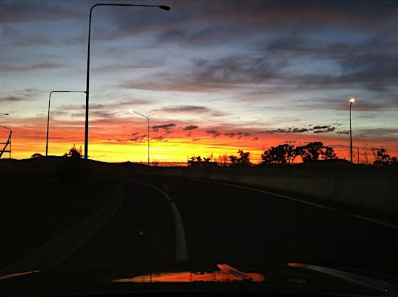 GDE sunrise