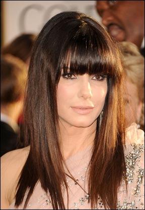 Sandra Bullock Long Hairstyles Long Straight OZZsTNbK9Iel