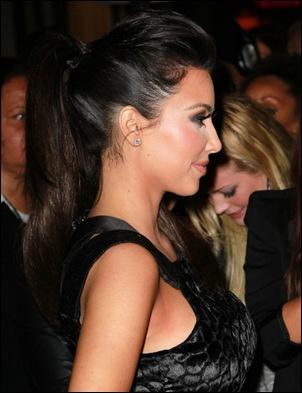 Kim Kardashian Long Hairstyles Ponytail 7LibBd7FnUIl