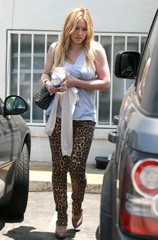 Hilary Duff Pants Shorts Skinny Pants _w3MiqVWmkjl