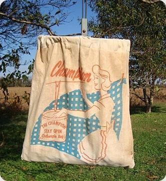 Vintage Clothes pin bag 2
