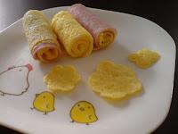 ham n egg rolls