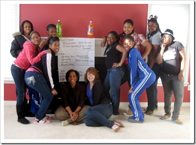 Girls For A Change Action Team in Richmond, Virginia