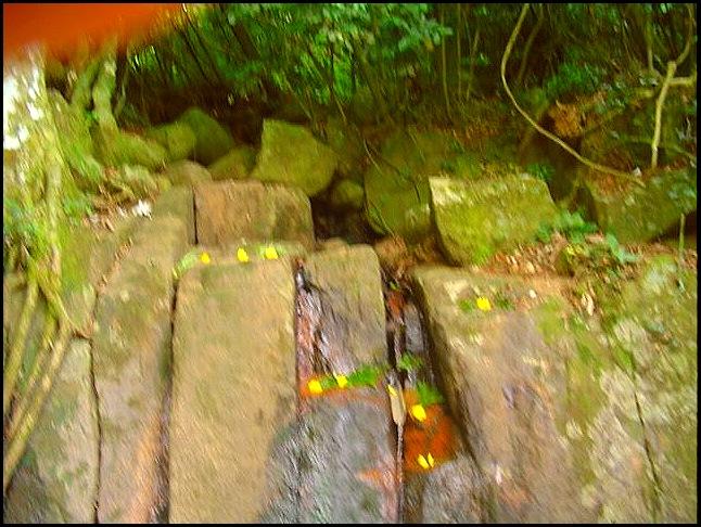 Cachoeira dos orixas