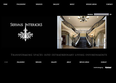 Thinking2 - Web Development & Design: Servais Interiors: Thousand