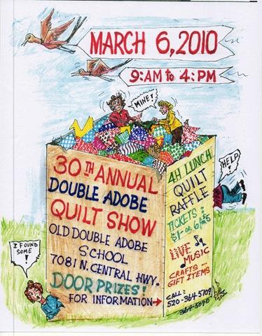 Quilt show flyer