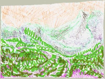 ralf kwaaknijd, semiabstract dunescape i, 2008