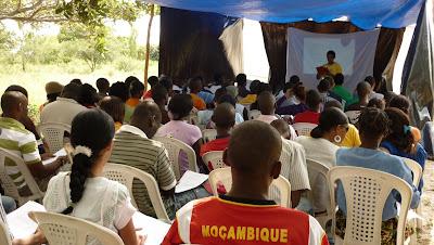 Comienza la jornada en Parque Marracuene, Mozambique, Africa