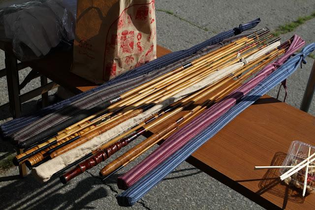 Tenkara bamboo rods