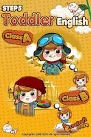 Screenshot of Toddler English Step 5 EzNet