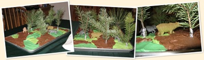 View Camo Forest Cake