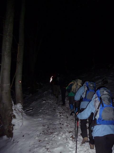 Noćni uspon na Japetić