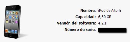 Actualizacion iOS 4.2.1 iOS 4.2.1 ya disponible