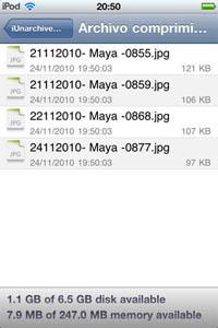 paso%206 ¿Cómo abrir archivos zip en iPhone, iPad o iPod Touch?