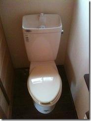 自然素材の家 トイレ