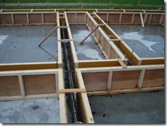 土壁の家 型枠4