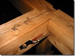 土壁の家 羽子板
