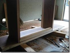 土壁の家 下駄箱