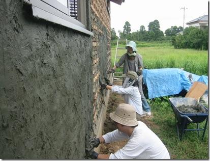 土壁の家 つちぬり