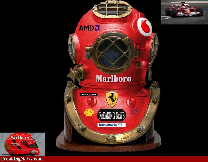 шлем Феррари Формулы-1