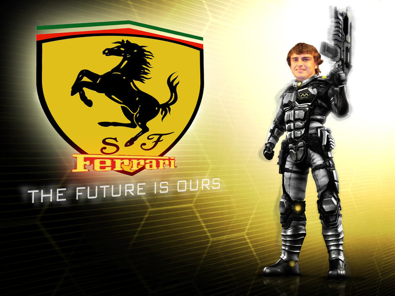 Фернандо Алонсо Ferrari the future is ours
