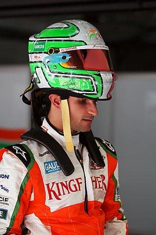шлем Витантонио Льюцци Force India