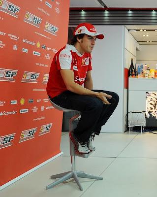 Фернандо Алонсо Ferrari
