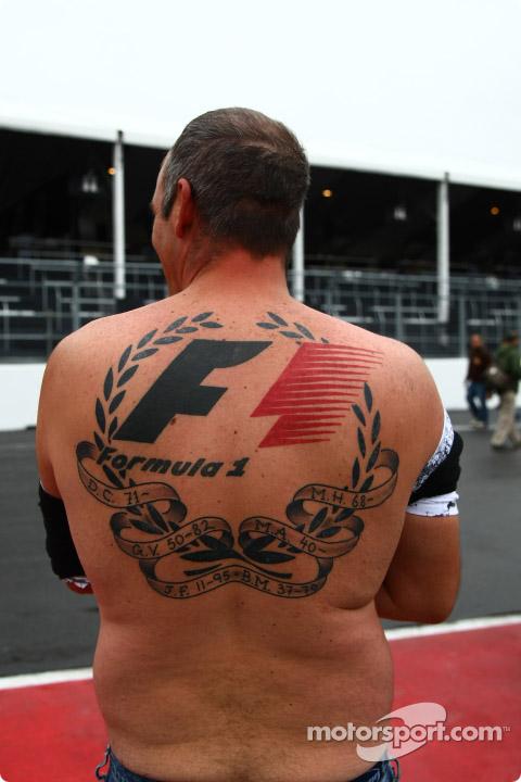 болельщик Формулы-1 на Гран-при Канады 2010