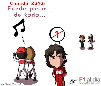 Гран-при Канады 2010 Noe Izumi