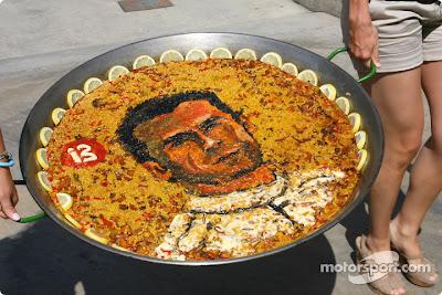 кулинарное искусство Педро де ла Роса