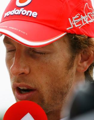 Дженсон Баттон на Гран-при Великобритании 2010