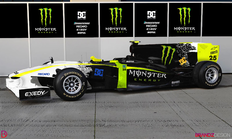 Monster Energy F1 Car