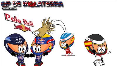 после квалификации Los MiniDrivers на Гран-при Великобритании 2010