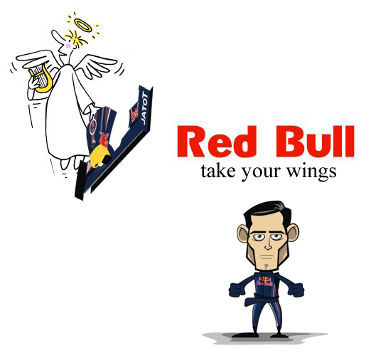 Марк Уэббер take your wings