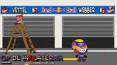 Марк Уэббер номер 1 в Red Bull