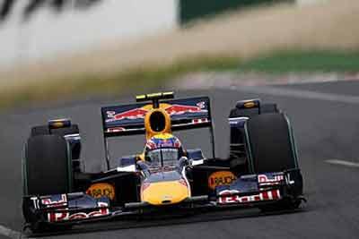 Марк Уэббер Red Bull