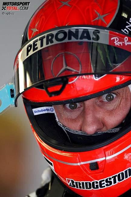 Михаэль Шумахер на Гран-при Венгрии 2010