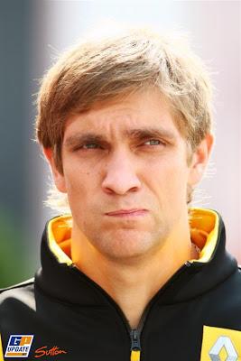 Виталий Петров на Гран-при Венгрии 2010