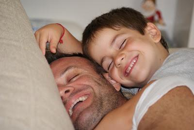 Рубенс Баррикелло с сыном