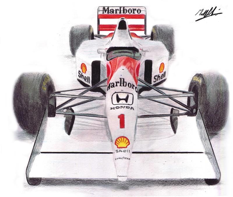 McLaren MP4-8 1993 года