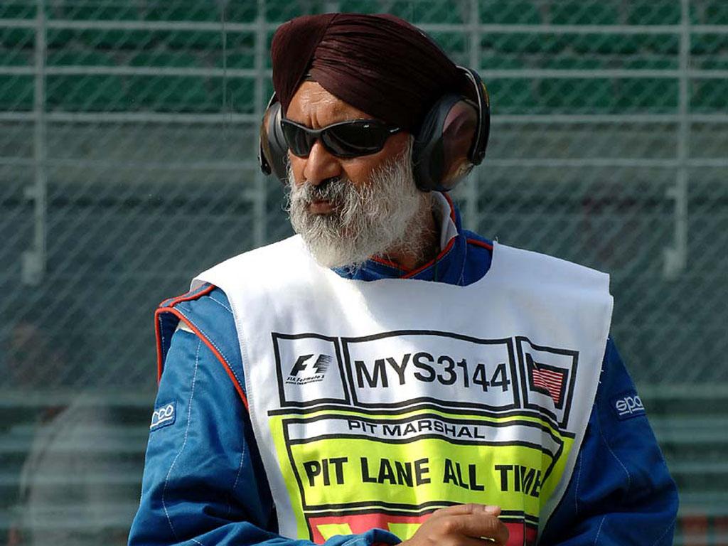 Маршал на Гран-при Малайзии 2010