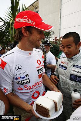 Дженсон Баттон и Сакон Ямамото на Гран-при Венгрии 2010