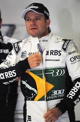 Рубенс Баррикелло на Гран-при Бельгии 2010