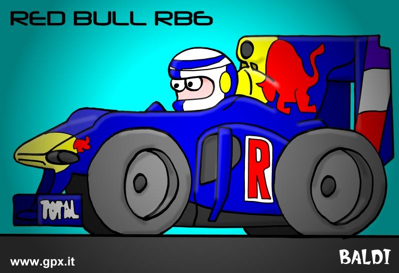 болид 2010 Red Bull RB6