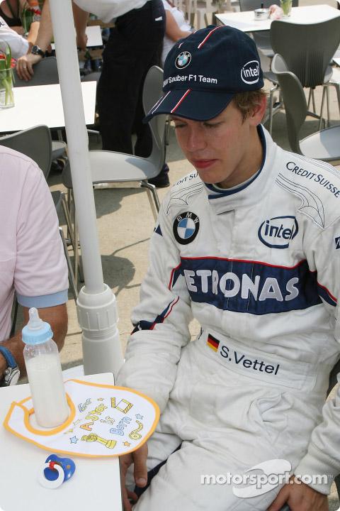 Себастьян Феттель на Гран-при США 2007