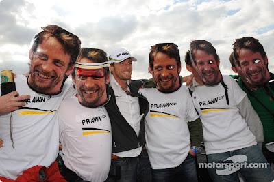 Дженсон Баттон на Гран-при Великобритании 2009